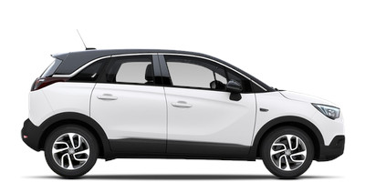 Rent a car en punta prima opel crossland