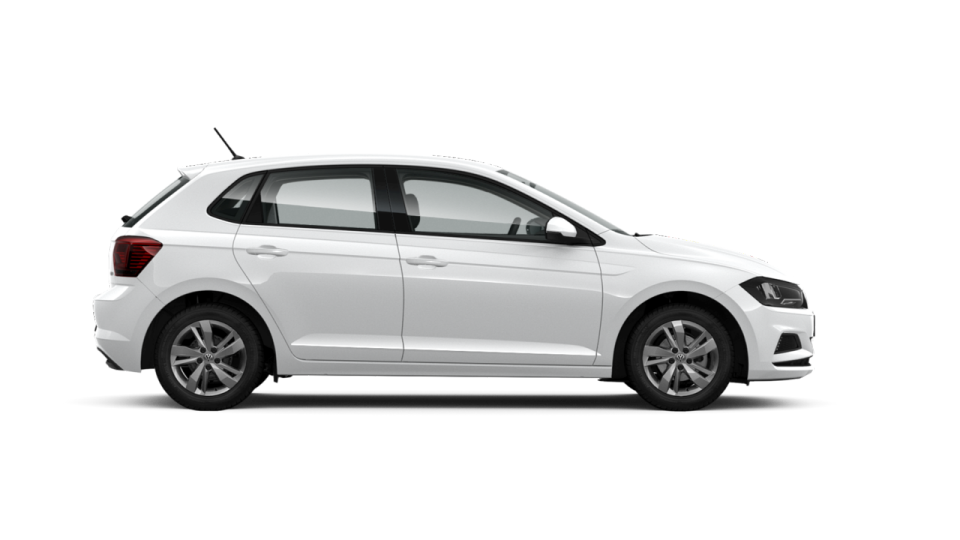 Rent a car en calan blanes volkswagen polo